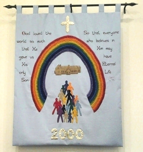 CWL 2000 Wall Hanging